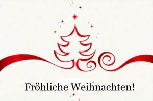 Frohe Weihnachten! Z Kaliadami!