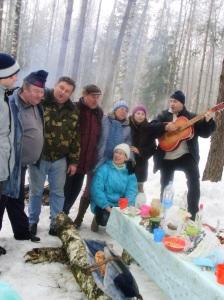 Frauentagsfeier im Wald