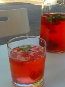 Erdbeerlimo