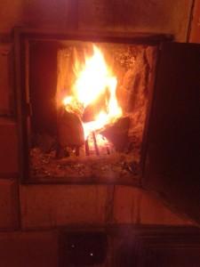 So ein Kaminfeuer ist doch was Feines...