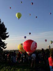 Heißluftballonwettbewerb