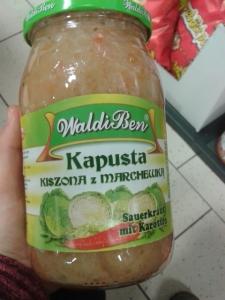 Sauerkraut, polnisch