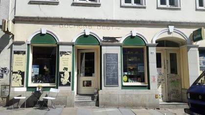 Wunderschöner Buchladen in Dresden
